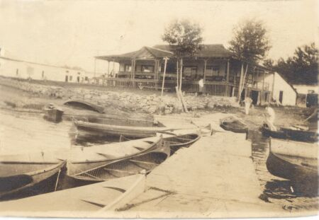 Cartierville Boating club 1920's