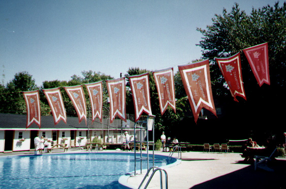 1965 Burgee Display